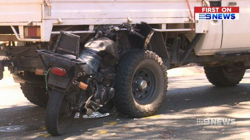 Police are slamming the behaviour of the rider as irresponsible. (9NEWS)