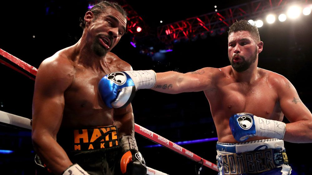 Bellew stuns Haye in heavyweight clash