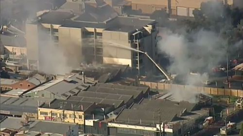 Brunswick abandoned factory fire deemed suspicious by authorities