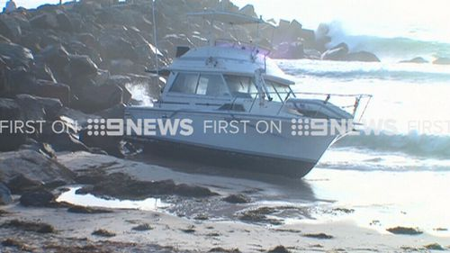 The boat's skipper allegedly returned an alcohol reading of  0.159. (9NEWS)