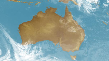 Australia has recorded its fourth warmest July on record.