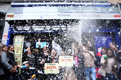 Winners of world's richest lottery 'El Gordo' celebrate