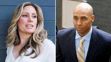 Justine Ruszczyk and Mohamed Noor.