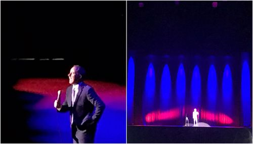 The comedian wowed Adelaide audiences last night. (Will Crouch)