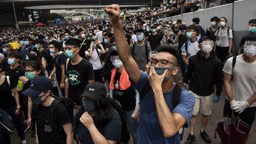 190614 Hong Kong student protests human rights China tensions News World Asia