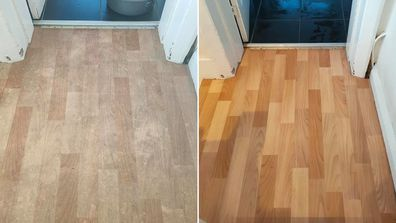 Cult-favourite cleaning product brings lino flooring back to life