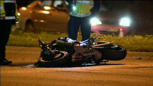 Bankal, 28, was a disqualified driver when his car crashed into 21-year-old Ashleigh Gason on the Nepean Highway. Picture: 9NEWS.