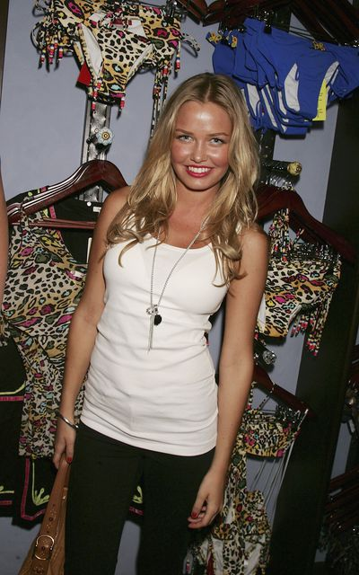 Lara Bingle at the opening of the Tigerlily swimwear store in Paddington, Sydney, October, 2006