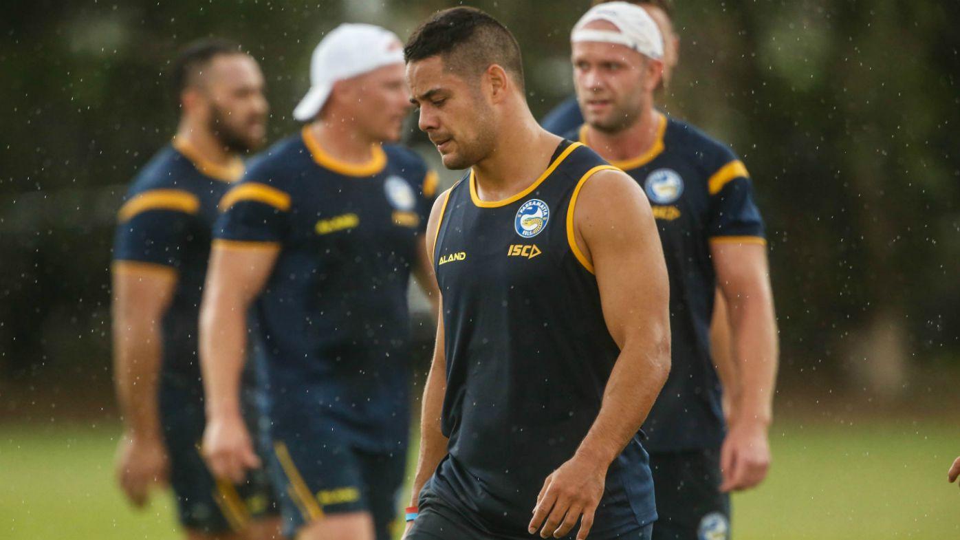 Parramatta turn aggressive at NRL training