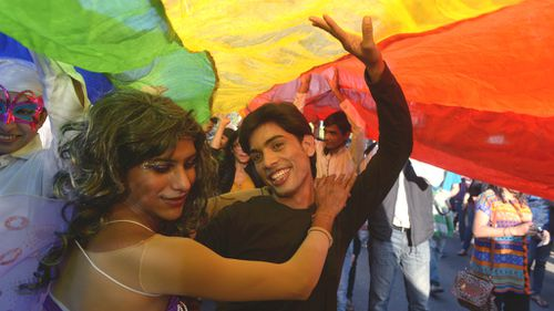 Equal rights supporters march in India despite gay sex ban
