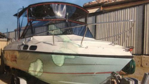 An old image of the missing vessel. (WA Police)