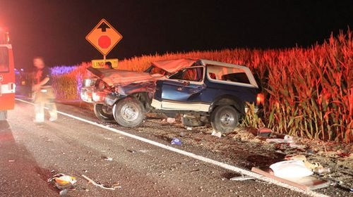 Armpit fire prank leads to rollover crash