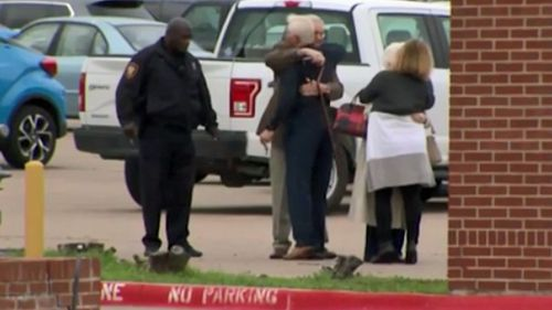Two people have been killed after shooting inside a Texas church.
