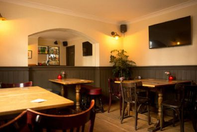 The Comptom Arms is a local pub in Islington in the UK.