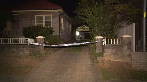 Emergency services cordoned off the scene on Stapleton Street. (9NEWS)