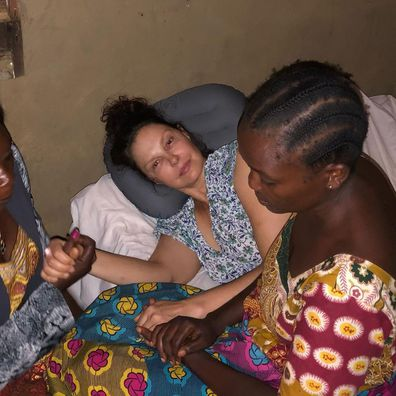 Ashley Judd, Congo accident