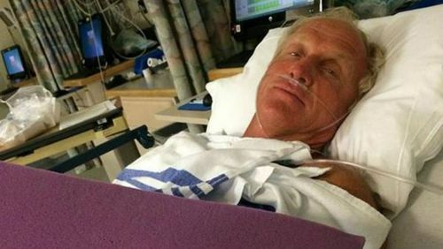 'One lucky man': Golfing great Greg Norman almost severs hand with chainsaw