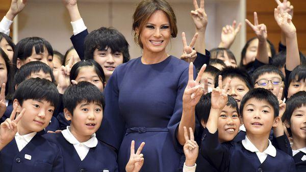 Melania Trump in Japan