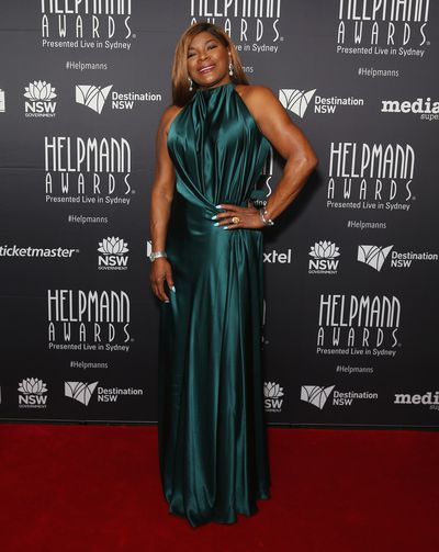 "<p>Marcia Hines has been shining on the Australian stage for decades and at last night&rsquo;s Helpmann Awards the performer dazzled on the red carpet in a classic emerald, halter-neck gown from leading local designer Bianca Spender.</p> <p>The event was held at Sydney&rsquo;s Capitol Theatre and while it lacks the gaudy glamour of the <a href=""http://style.nine.com.au/2017/04/23/23/03/logies-2017-best-and-worst-dressed"" target=""_blank"" draggable=""false"">Logie Awards</a>, presenter Deborah Hutton in Vera Wang, singer Dami Im in Carla Zampatti and leading man Tim Draxl all scored polished points on the red carpet.</p> <p><em>The Bodyguard</em> star Paulini dropped her guard and just served body in a fitted gown from bridal label Ziolkowski.</p> <p><em>Today Extra</em> host David Campbell in Calibre was joined on the red carpet by his producer wife Lisa in Carla Zampatti, who has been reinvigorating Sydney's theatre scene at the Hayes Theatre. Proud father Jimmy Barnes also descended on the red carpet in a matching jacket.</p> <p>Marcia missed out on an award at the event with <em>Kinky Boots</em> star Callum Francis winning best actor in a musical, <em>My Fair Lady</em>&rsquo;s Anna O&rsquo;Byrne awarded best actress in a musical and Belvoir Street Theatre&rsquo;s <em>The Drover&rsquo;s Wife</em> cleaning up the theatre awards.</p> <p>See the stars take their style bows here.</p>"