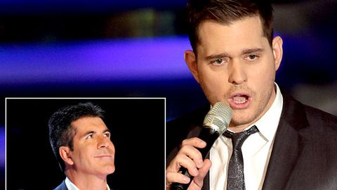"""Michael Buble nearly told Simon Cowell to """"go f--- himself"""""""