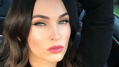 Megan Fox, Instagram, photo, car, selfie