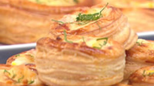 Smoked Chicken And Corn Vol Au Vents 9kitchen