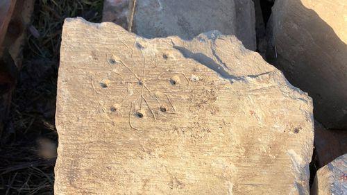 It's believed the markings ward off evil spirits.