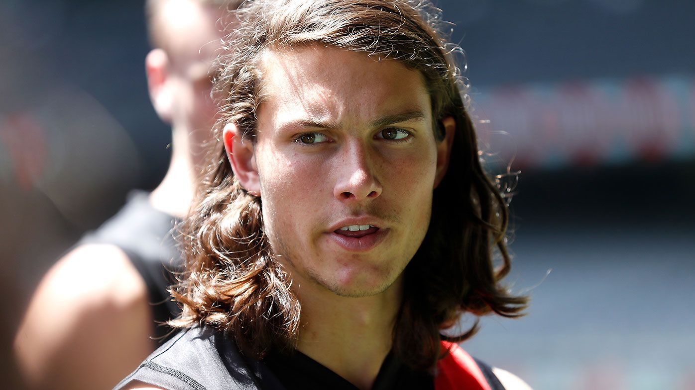 'They asked me': Essendon draftee Archie Perkins hits back at critics of controversial interstate comment