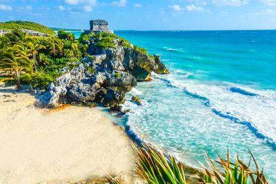 5. Tulum Beach in Quintana Roo, Mexico
