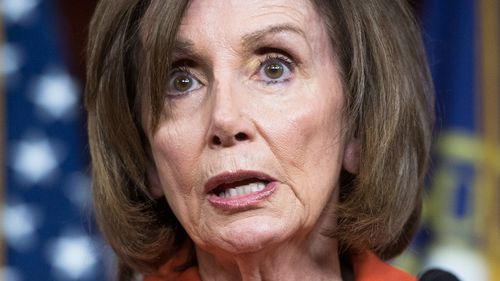 House Speaker Nancy Pelosi slammed President Donald Trump