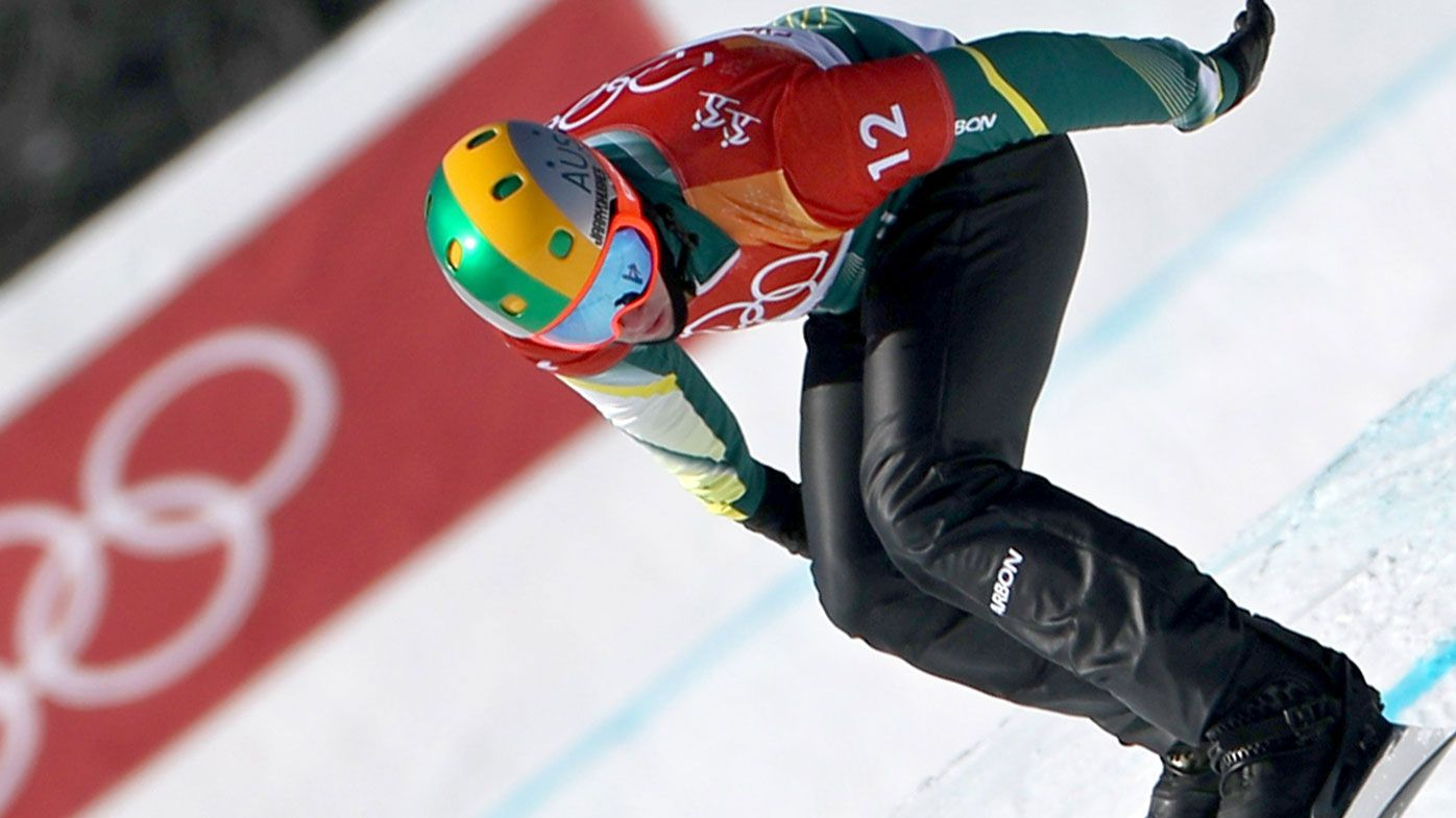 Jarryd Hughes wins Australia's third Olympic medal in snowboard cross