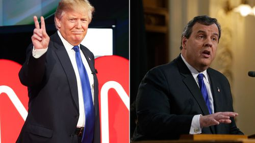 Former presidential hopeful Chris Christie formally backs Donald Trump for Republican nomination