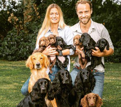 James Middleton puppies