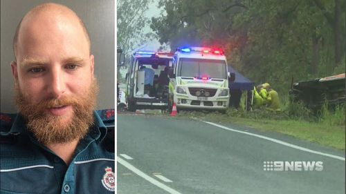 Queensland Mackay paramedic death ambulance crash Craig McCulloch