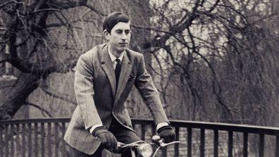 Prince Charles' university flashback photo