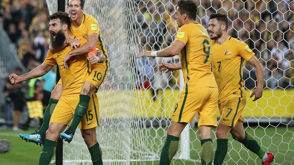 Australia qualify for Russia World Cup