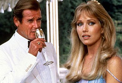 Roger Moore and Tanya Roberts (United International Pictures)