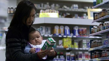 Children's Panadol will be put behind the counter to prevent panic-buying.