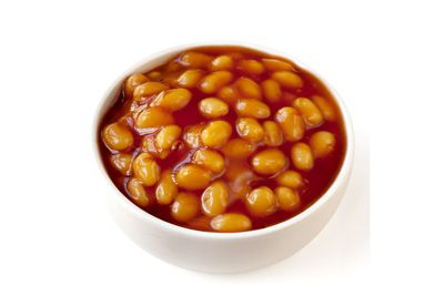 Baked beans: 2.2mg per 100g