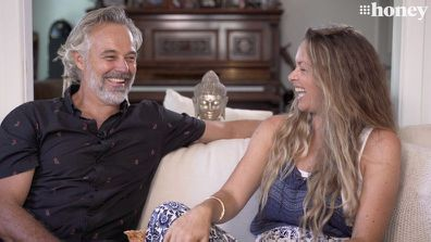 Cameron Daddo and Alison Brahe