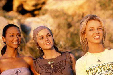 Taryn Manning, Britney Spears, Zoe Saldana