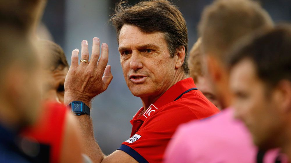 Former Demons coach Paul Roos. (AAP)