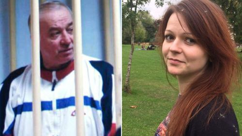 "Sergei Skripal and his daughter Yulia were poisoned by a nerve agent that the UK Prime Minister says ""highly likely"" came from Russia. (AAP)"
