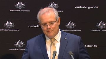 Scott Morrison speaking about his family today.