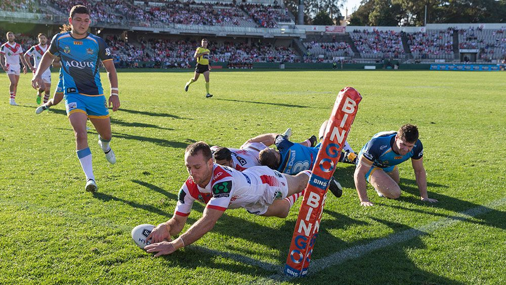 Dragons back in the NRL finals mix
