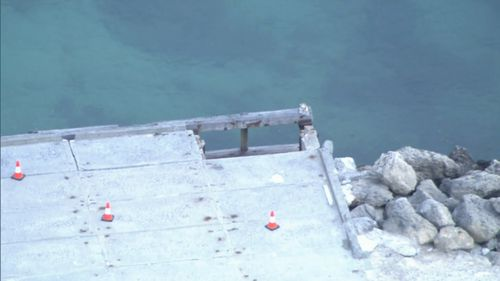 """A 2014 report found the jetties on the island had """"maintenance issues"""" which needed to be addressed."""