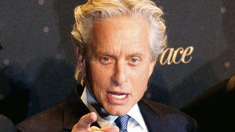 WATCH: Michael Douglas blasts media over Catherine Zeta-Jones 'marriage crisis' talk