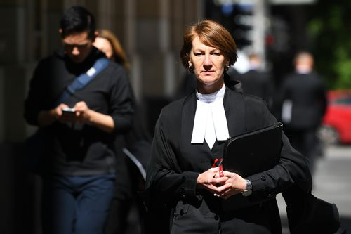 Director of Public Prosecutions Kerri Judd QC arrives at the Supreme Court.
