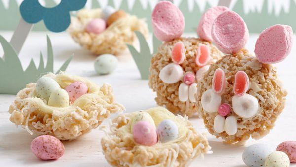 Crackle bunnies