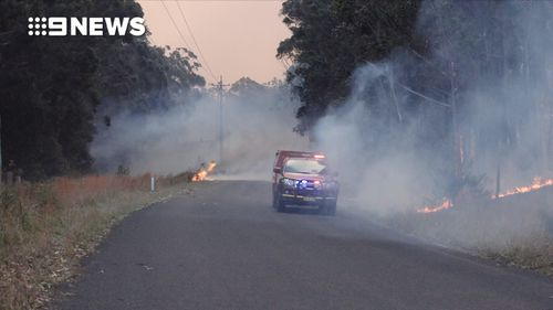 A total fire ban has been issued for parts of New South Wales, including Milton on the south coast.